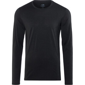 Icebreaker Tech Lite LS Crewe Shirt Men black